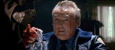 Dennis Hopper in True Romance.  One of the greatest scenes in 90s cinema.