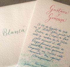 Invitación de boda Playa y Coral #boda-en-la-playa #coral #diseño