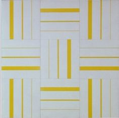 François Morellet, 3 x 3, 1954 [Centre Pompidou]