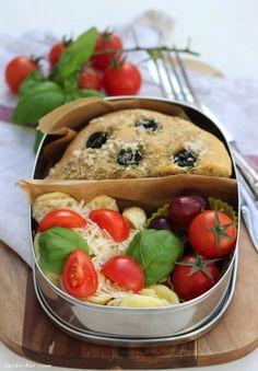 MittwochsBox #32: Italienische MittagsBox mit Focaccia und Pasta…