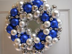 15 Gorgeous Christmas Silver and Blue by CraigCustomTreasures, $49.50