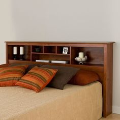 Delicieux Prepac King Bookcase Headboard