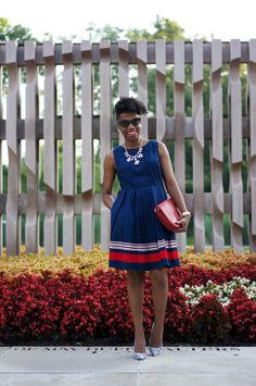 Economy of Style: Red, White, and Blue