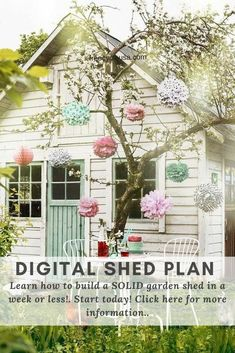 Here are our simple and beautiful backyard shed plans in many attractive styles, for your yard tools, equipment or pool items! Yard Tools, Tool Sheds, Lots Of Money, Shed Plans, Backyard, Outdoor Structures, How To Plan, Simple, Garden