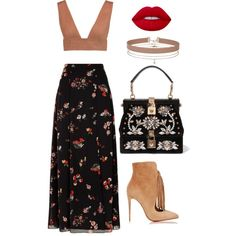 Untitled #253 by pehpalad on Polyvore featuring мода, Valentino, RED Valentino, Christian Louboutin, Dolce&Gabbana, Miss Selfridge and Lime Crime