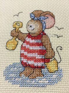 Furry Tales Summer Fun The World of Cross Stitching Issue 194 October 2012 Saved