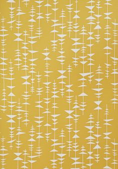 Ditto Sunshine Wallpaper by MissPrint. PEFC certified and printed in the UK