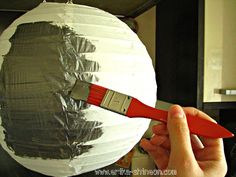 "shine on: Easy ""Death Star"" tutorial-Lego Star Wars birthday party"