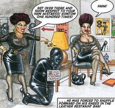 Nimrod female domination drawings