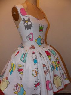 Custom Made to Order Sanrio and Friends by SweetHeartClothing, $145.00