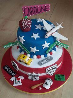 53 Meilleures Images Du Tableau Gateau Theme Usa Cake Art Bakken