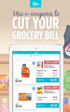 Cut down on your grocery bill with e-coupons from Flipp. Load digital coupons to your loyalty cards seamlessly and start saving. Download for free.