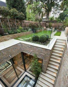 landscape architecture design Five bedroom terraced new house in South End, London - off High Street Kensington - listed on Zoopla for Architecture Design, Amazing Architecture, Landscape Architecture, Landscape Design, Sustainable Architecture, Residential Architecture, Contemporary Architecture, Seattle Architecture, Creative Architecture