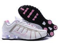 the latest 896bb 28b74 chaussures nike shox nz leven femme (blanc rose) pas cher en ligne.