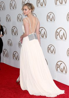 Jennifer Lawrence Turns Heads at the Producers Guild Awards: Jennifer Lawrence stole the spotlight when she stepped out for the Producers Guild Awards in LA on Saturday.
