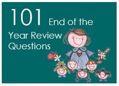 101 End of the Year Review Questions! Aligned to third grade common core.