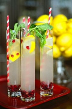 Christmas Lemonade