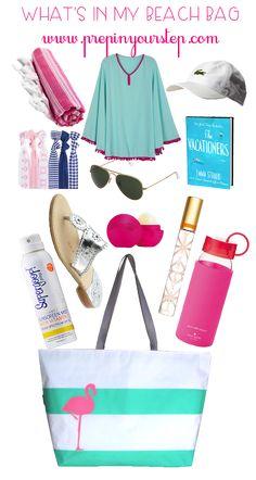 What's In My Beach / Pool Bag