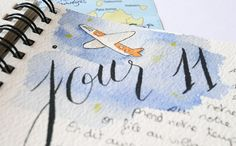 Carnet de voyage illustré - calligraphique Zentangle, Calligraphy, Fake Calligraphy, Germany Travel, Custom Map, Vacation Spots, Sketch, Taking Pictures, Carte De Visite