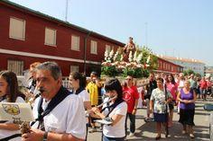 El barrio de San Lorenzo celebra a lo grande la festividad de uno de los copatronos de Laredo