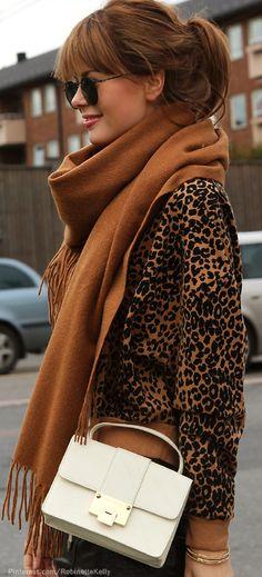 Street Style | Leopard + Neutrals