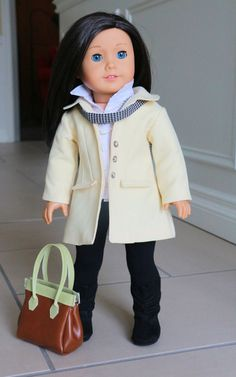 American Girl Doll Clothing Fits 18 inch Dolls by NoodleClothing