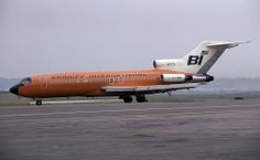 Braniff International Boeing 727-27C N7279 at Washington-National, July 1970. (Photo: Steve Williams, Copyright: Braniff Flying Colors Collection)