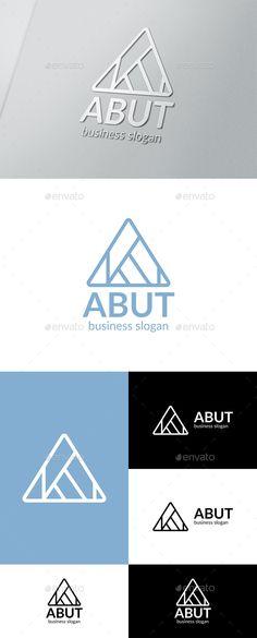 Abut Logo Template Vector EPS, AI Illustrator, CorelDRAW CDR. Download here: http://graphicriver.net/item/abut-logo/16357908?ref=ksioks
