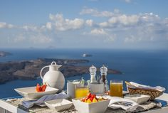 A freshly prepared breakfast at Iconic Santorini is something to really look forward to...