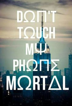 don't touch my phone mortal - Google Search