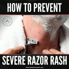 Razor rash is a menace especially to those with sensitive skin. It can persist for longer periods of time and can affect how you look and feel all throughout the day.   So what do you need to do to avoid getting it? Here are some tips and techniques that you can do to reduce your chances of getting a severe razor rash.  Read our article to learn more.  #nakedarmor #wetshave #shaving #straightrazor #groomingtips #mensgroomingtips Shaving Tips, Wet Shaving, Single Blade Razor, Professional Beard, Straight Razor Shaving, Razor Burns, Pre Shave, Exfoliating Scrub, Ideal Tools