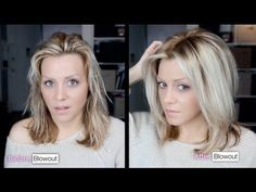 ▶ DIY: Voluminous hair blowout tutorial video. - YouTube