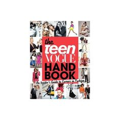 The Teen Vogue Handbook ($20) ❤ liked on Polyvore featuring books