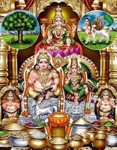 Sri Kuber Goddess Lakshmi.