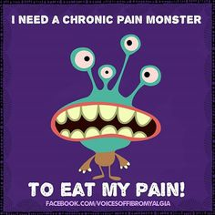 Chronic pain monster