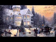 26 Popular Traditional Christmas Carols w/ Festive Art by Thomas Kinkade