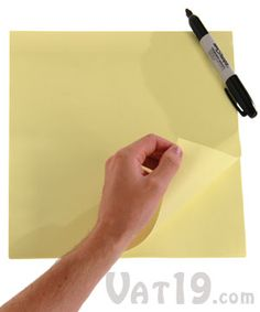 Jumbo StickIt Pad - 80 adhesive sheets These giant sticky notes are 36 times larger than a standard Post-It!