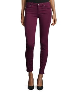Verdugo+Ultra+Skinny+Jeans,+Sweet+Wine+at+CUSP.  Fall trend: full bodied reds