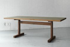 millord Table Furniture, Cool Furniture, Furniture Design, Timber Table, Wooden Tables, Luxury Dining Tables, Dining Room Table, Woodworking Furniture, Table Legs