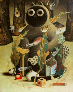 """Neko Dream"" by Philip Giordano"