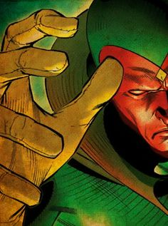 The Vision - One of my favorite Avengers.