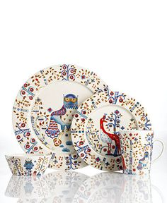 Enjoy Taika Collection Breakfast Set and all Iittala collection. Buy on Mohd Shop to get exclusive deals online. Breakfast Set, Villeroy, Plate Design, China Patterns, Marimekko, Scandinavian Design, Ceramic Art, Fine China, Decoration