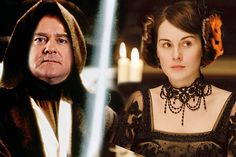 Downton + Star Wars … it's happened!