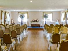 The Danube Suite Ceremony Room at Hungarian Hall for weddings and civil ceremonies