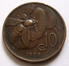 Italian Coin bee coin. I saw this here and decided to buy one on ebay - I'm excited for it to arrive soon!