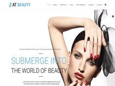 AT Beauty Joomla! template by Age Themes on @creativemarket