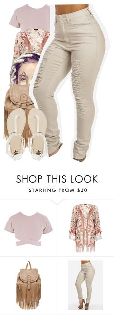 """Untitled #439"" by christianna-futrell ❤ liked on Polyvore featuring Asilio, River Island, New Look and 2b bebe"