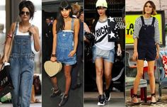 As famosas já aderiram á moda das jardineiras jeans http://vilamulher.terra.com.br/jardineira-jeans-como-usar-9-5007479-5926-pfi-josiemantilla.html