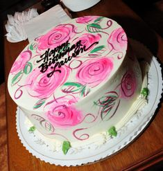 beautiful birthday cake!!
