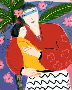 Mother and Child 2 / Barbara Perrine Chu